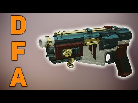 DFA Handcannon WORTH THE GRIND? | Destiny 2