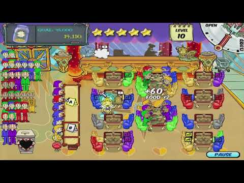 Diner Dash Walkthrough - Level #50 - Indian Restaurant - The Final Shift (Grand Finale)