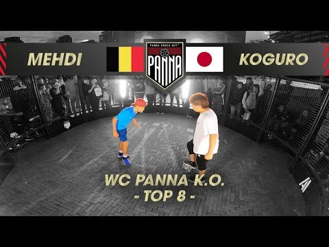 Takuto Koguro (JAP) VS Mehdi Amri (BE) | QUARTER FINAL, Panna Knock Out World Championships 2019