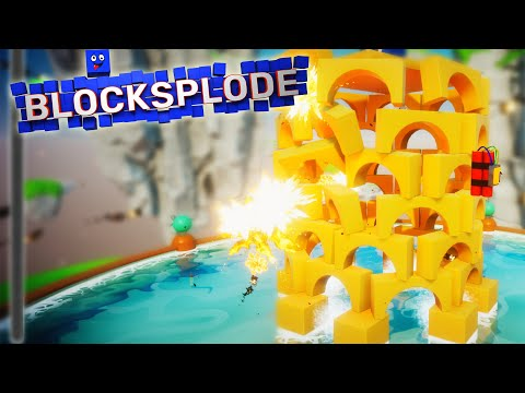 Solving All My Problems With Explosions, as Usual [Free] - Blocksplode First Look