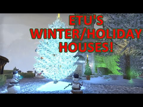 ESO Winter/Holiday Homes From Ethereal Traders Union! 🎄