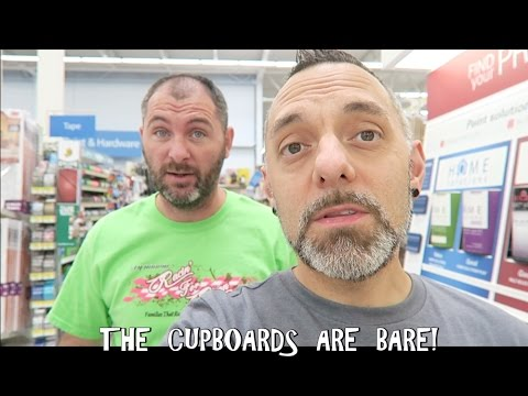 THE CUPBOARDS ARE BARE! / VLOG