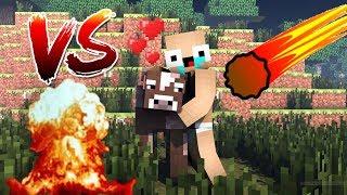 Zengİn Vs Fakİr Hayati #7 - Minecraft Meteor Yağmuru