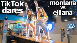 Epic TIKTOK CHALLENGE ft. Dance Moms Elliana Walmsley vs Montana Tucker