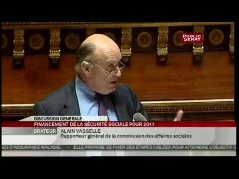 Projet de loi de finance de la sécurité sociale - Séance (08/11/2010)
