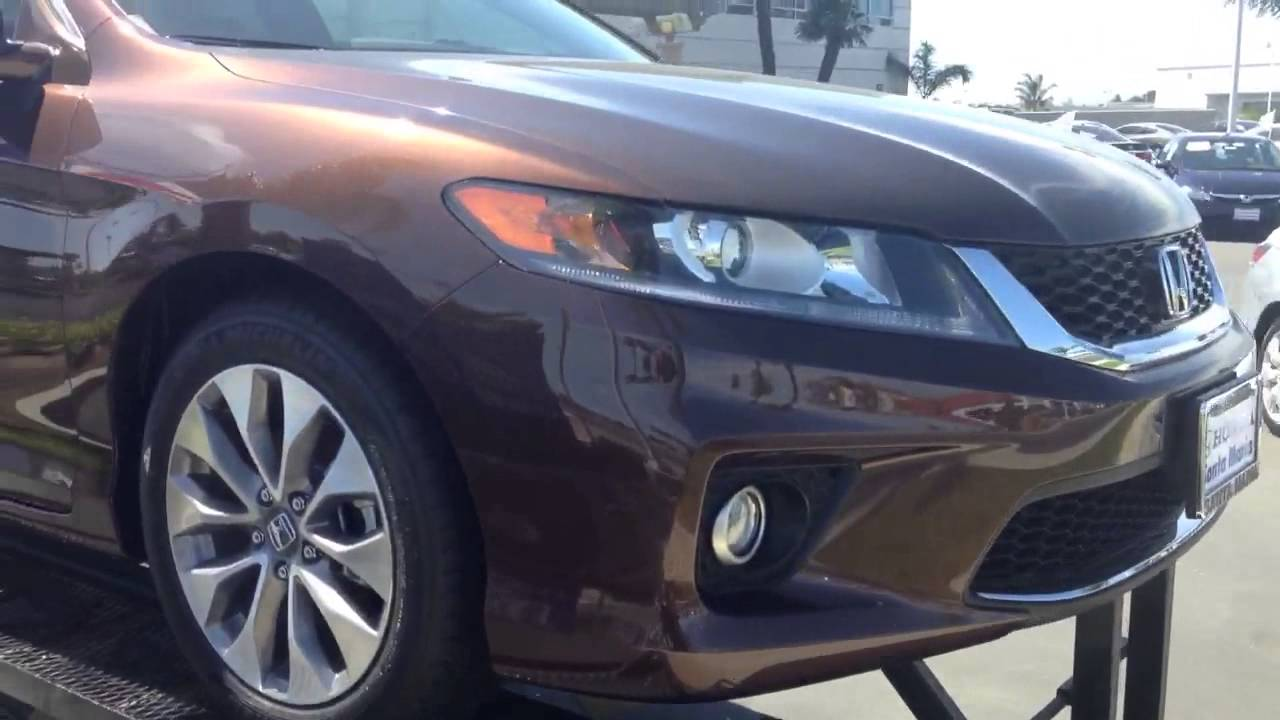 2013 Honda accord ex coupe tiger eye pearl - YouTube