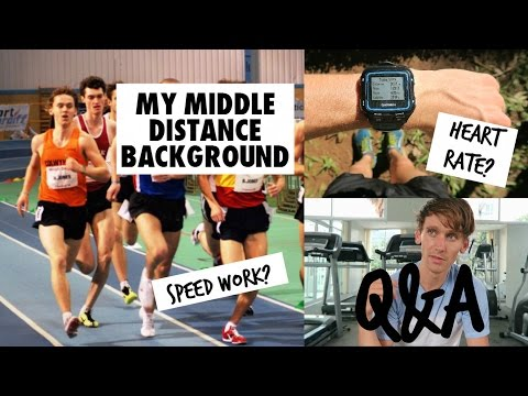 Middle-Distance, Heart Rate, Speed Work, Nutrition for Athletes | Q&A