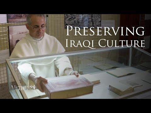 How a Dominican friar saved from ISIS ancient Iraqi manuscripts and artifacts - EWTN Vaticano