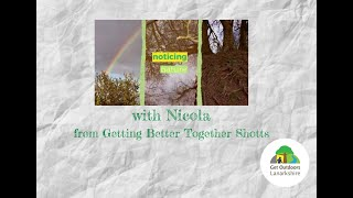 Today's video from Nicola at Getting Better Together Shotts