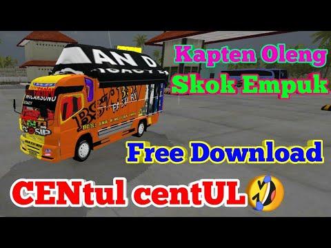 BUSSID] Mod Truk Canter Oleng Free Download