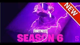 """First look at the season 6 teaser. """"FORTNITE BATTLE ROYALE"""""""