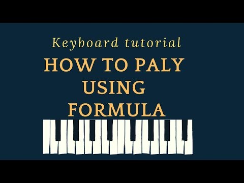 How to play scales using formula | Keyboard Tutorial | Roshans Music thumbnail