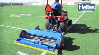 Hellas' New Clean Sweep Synthetic Turf Maintenance Machine