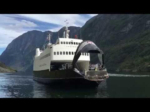 Nærøyfjorden - Fjord2 Hardingen Sr i turistrute Kaupanger-Gudvangen
