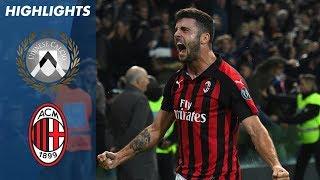 Udinese 0-1 Milan | Milan Score Stoppage Time Winner | Serie A