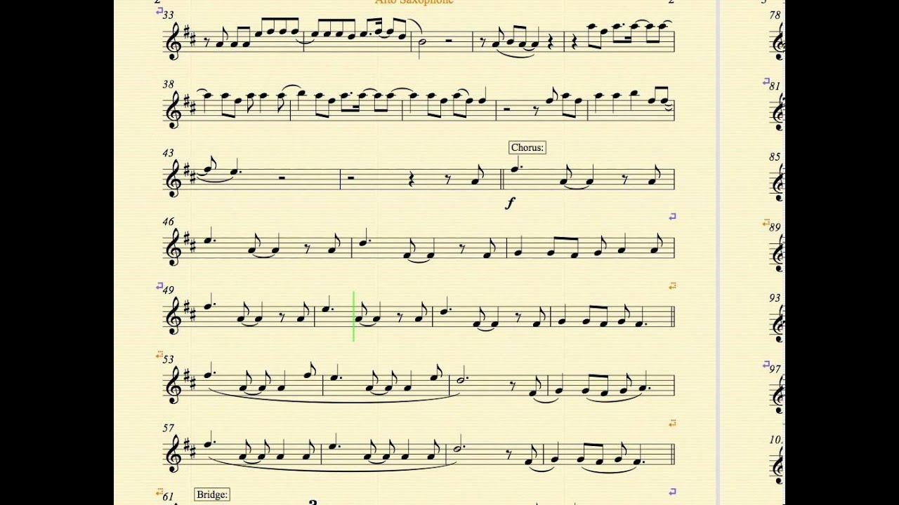 Walks like rihanna the wanted alto saxophone sheet music and walks like rihanna the wanted alto saxophone sheet music and chords hexwebz Choice Image