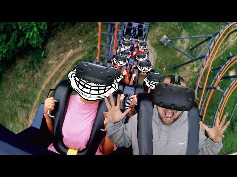 MOST DANGEROUS ROLLER COASTER IN THE WORLD!   Roller Force VR (HTC Vive Gameplay)