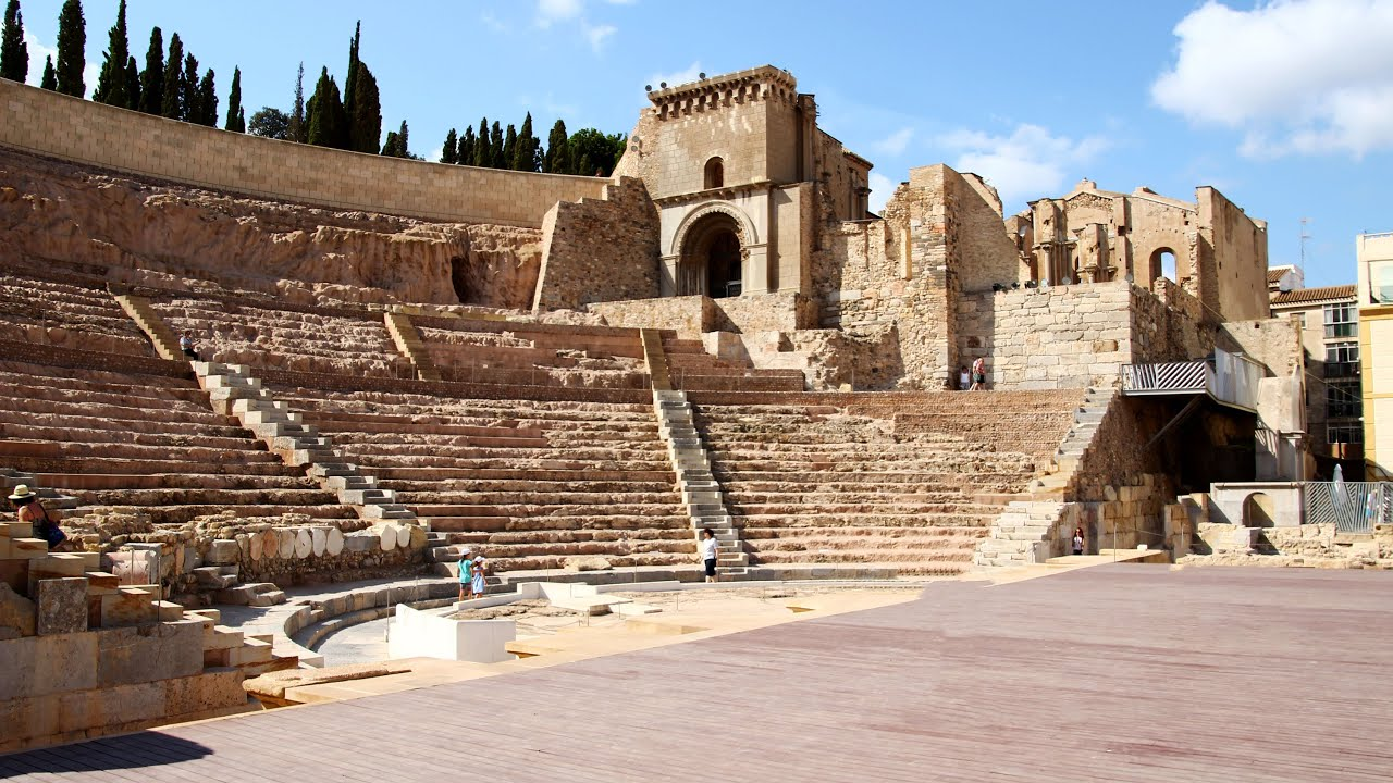 Roman Theatre & Museum (Museo Teatro Romano) Cartagena ...
