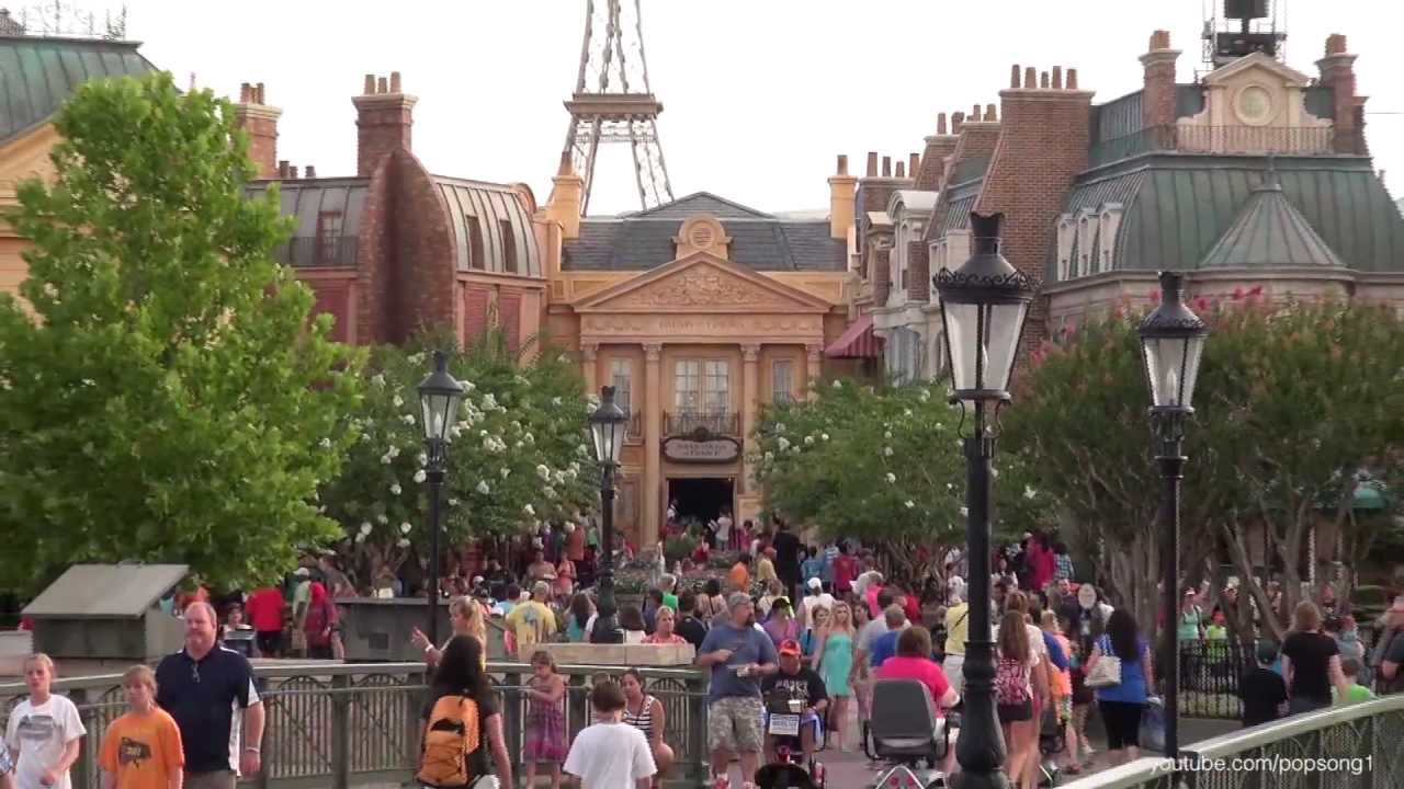 Image result for paris world showcase epcot