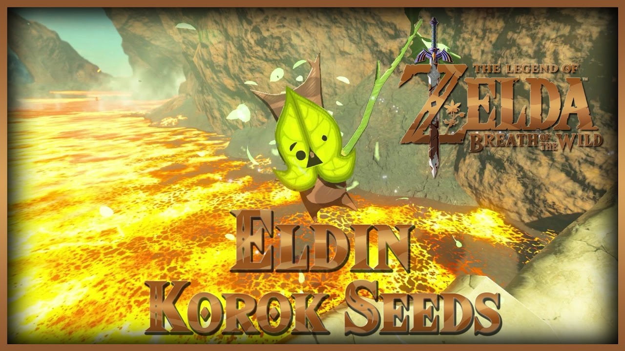 Zelda Breath of the Wild • Korok Seeds • Eldin