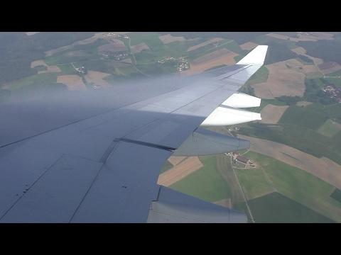 Air Canada A330-343 [C-GFAF] Smooth Morning Arrival at Munich Airport ᴴᴰ
