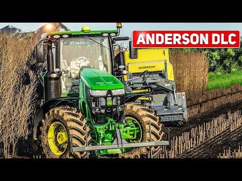 LS19 ANDERSON Farm #1: Pappeln pressen mit dem BIOBALER WB 55! LANDWIRTSCHAFTS SIMULATOR 19