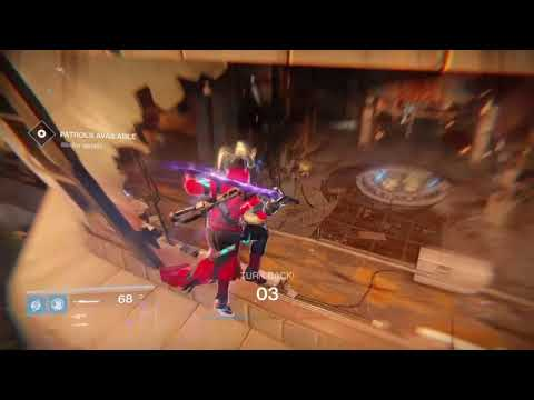 Destiny Ultra Captain entry point after sparrow patches 2017