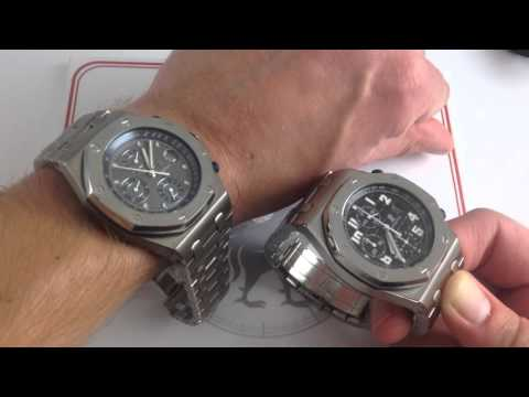 Audemars Piguet Royal Oak Offshore 25721TI Luxury Watch Review