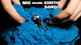 Burying Mic in Kinetic Sand | Rough Aggressive Sounds