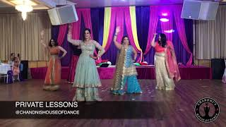Bride + Bride Squad Perform at Sangeet | Punjabi Wedding Performance | Bollywood Wedding Dance|
