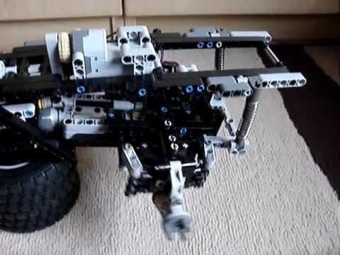 lego technic unimog chassis youtube. Black Bedroom Furniture Sets. Home Design Ideas