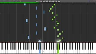 [Synthesia][MIDI] Joe Hisaishi - Spring