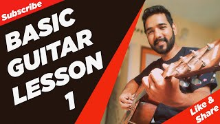 Video Basic Guitar Lesson 1 for Beginners in (Hindi) by download MP3, 3GP, MP4, WEBM, AVI, FLV Agustus 2018
