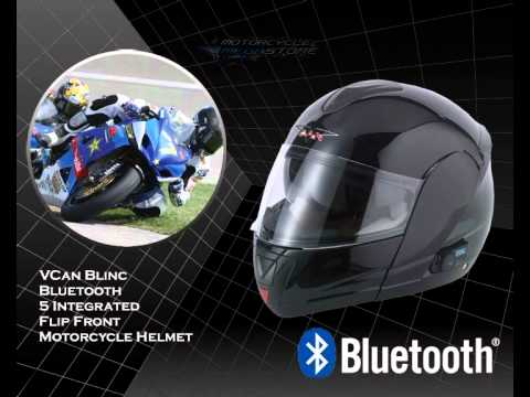 Full Faceflip Frontopen Face Bluetooth Motorcycle Helmets Youtube