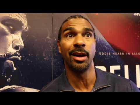 DAVID HAYE ON TONY BELLEW 'ROBBING THE BANK', QUESTIONS MOTIVE - VOWS HE 'WONT HEAR THE FINAL BELL'