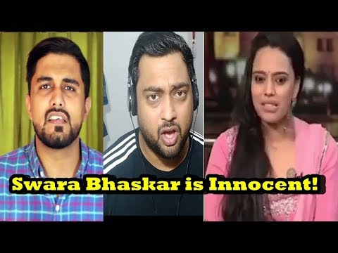 Indian Reacts to Swara Bhaskar | The Wide Side