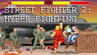 Street Fighter 2: Hyper Fighting - Basics and Replay Analysis