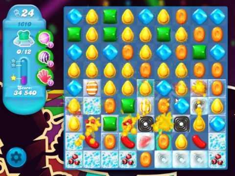 Candy Crush Soda Saga Level 1610 - NO BOOSTERS