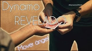 "Dynamo Revelado: Mover ángel por la carta [Angel moved by the letter] ""Revealed"""