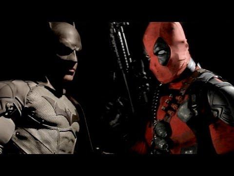 Daredevil Vs Deathstroke BATMAN vs DEADPOOL - S...