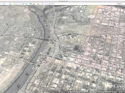 Sacramento 1874 historical map overlay