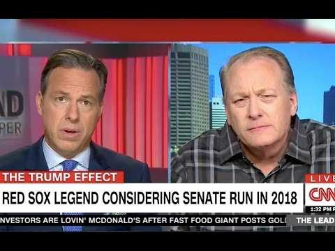 Curt Schilling Visibly Confused By Jews, Asks Jake Tapper To Explain