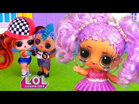Панки и Мария расстались! Маша все подстроила! Мультик куклы ЛОЛ сюрприз  Сериал про любовь LOL Doll