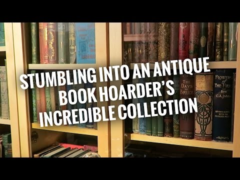 033 - Stumbling Into An Antique Book Hoarder's Incredible Collection