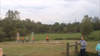 Leeds Farm Zip line Ostrander Ohio
