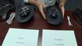 comparacion entre parlantes sony xs fb6930 vs pioneer ts a6965r
