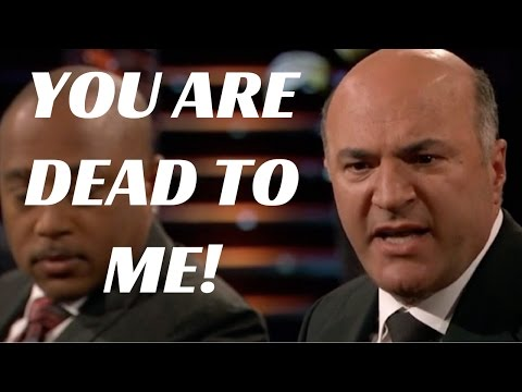 YOU ARE DEAD TO ME! - Classic Kevin O'Leary on Shark Tank