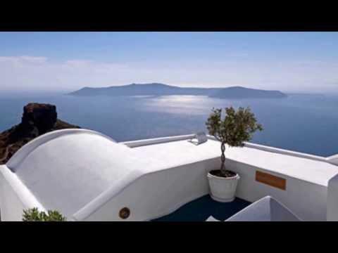collage-of-amazing-sights-at-tholos-luxury-hotel-resort,-santorini-[hd]