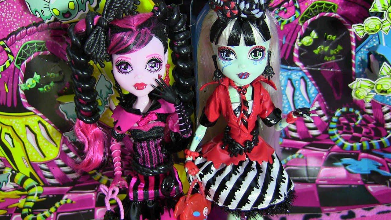 Draculaura y Frankie Stein Stein And Draculaura Doll