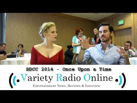 Jennifer Morrrison & Colin O'Donoghue - Once Upon a Time - Comic Con 2014 - Interview